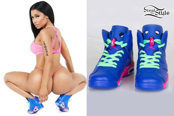 nicki minaj shoes anaconda