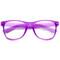 Retro colorful half frame clubmaster wayfarer sunglasses 8735 | zerouv