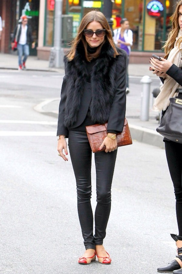 shoes flats sunglasses olivia palermo