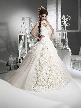 ball gown wedding dress wedding clothes princess chiffon