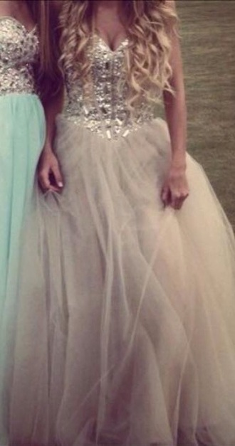 dress beige dress ball gown dress