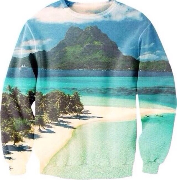 sweater tumblr beach