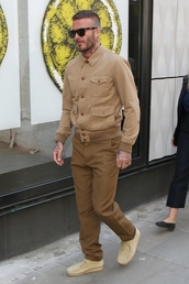 jacket,menswear,mens shoes,mens jacket,mens pants,david beckham,streetstyle,celebrity,camel