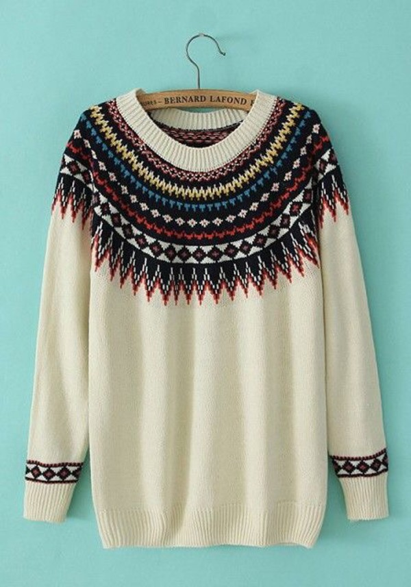 hipster sweater