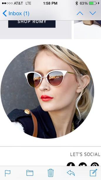 sunglasses silver sunglasses