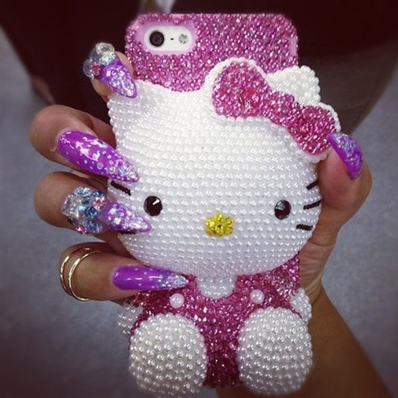 jewels phone case phonecase hellokitty iphone case