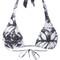 Lygia & nanny - printed bikini set - women - polyamide - gg, blue, polyamide
