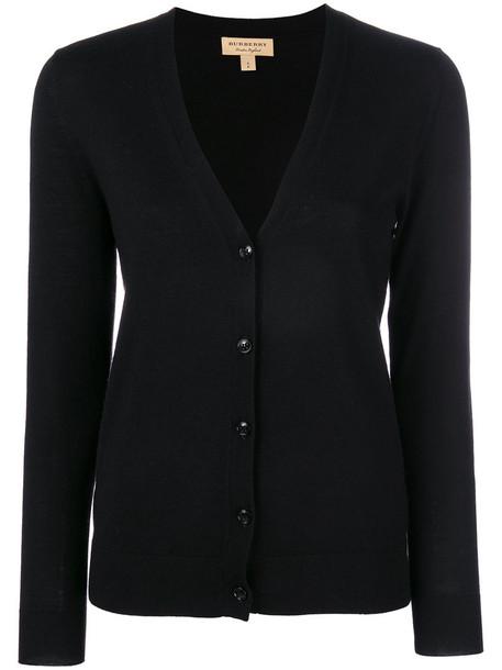 Burberry cardigan cardigan women black sweater