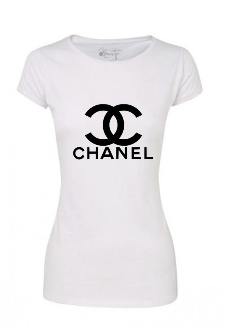 Chanel T Shirt Logo The Image Kid Has It