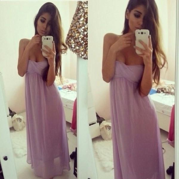 dress prom dress purple dress lilac dress lilac prom dress weheartit prom lilac prom dresses lilac