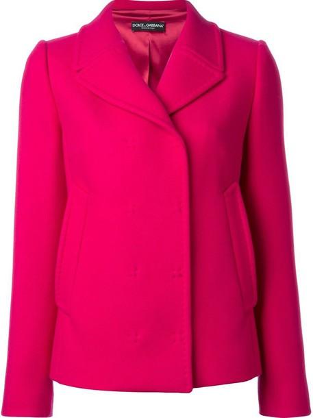 Dolce & Gabbana jacket purple pink