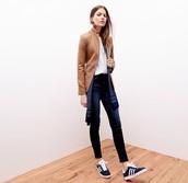 jeans,black,adidas,leather jacket,shoes,jacket