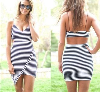 dress striped dress stripes