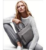 Amazon.com: calvin klein women's bina ss flat,camel/dark purple,5.5 m us: shoes