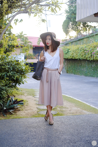 kryzuy blogger floppy hat