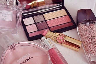 make-up eye eye shadow lip stick chanel coco chanel parfum lip balm eyeliner gold luxury silver lip gloss parfume