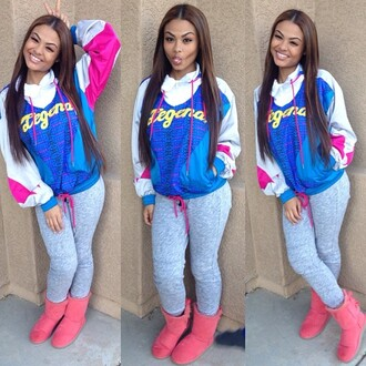 jacket shoes hoodie india westbrooks colorful pink white old school ugg boots pear body windbreaker india love pink sweater blue sweater white sweater sweatpants