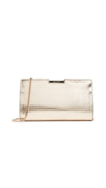 MILLY clutch gold bag
