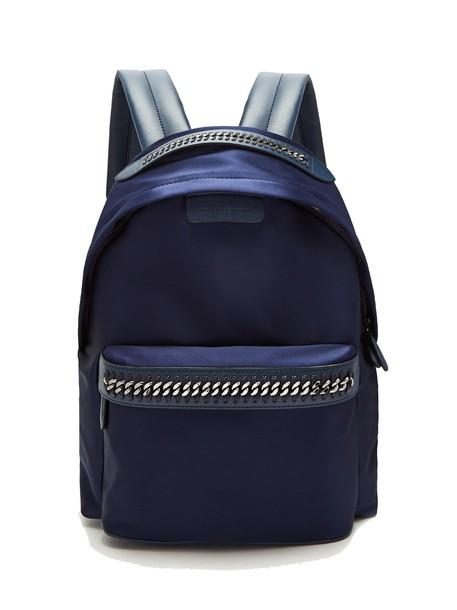 Stella McCartney backpack navy bag