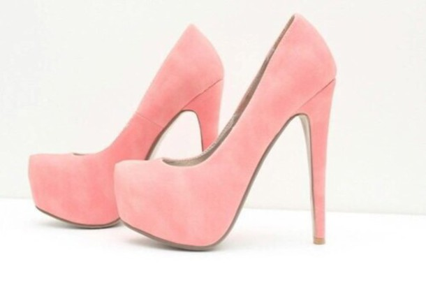 shoes high heels pink shoes pink heels beautiful light pink pink heels high heel pumps