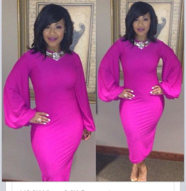 dress: erica campbell n her easter dress - wheretoget
