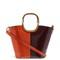 Maili tri-colour leather bucket bag