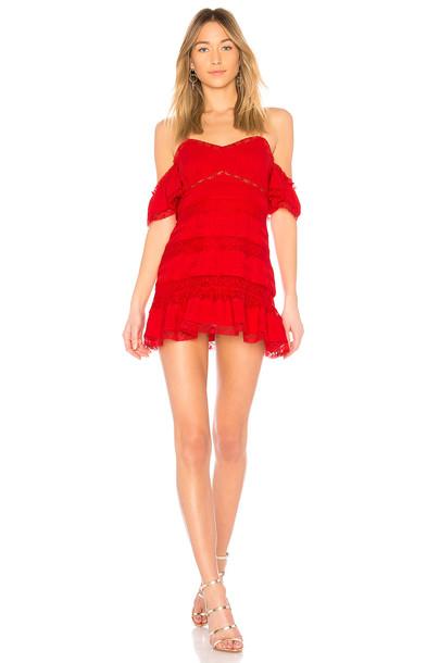 X BY NBD dress red