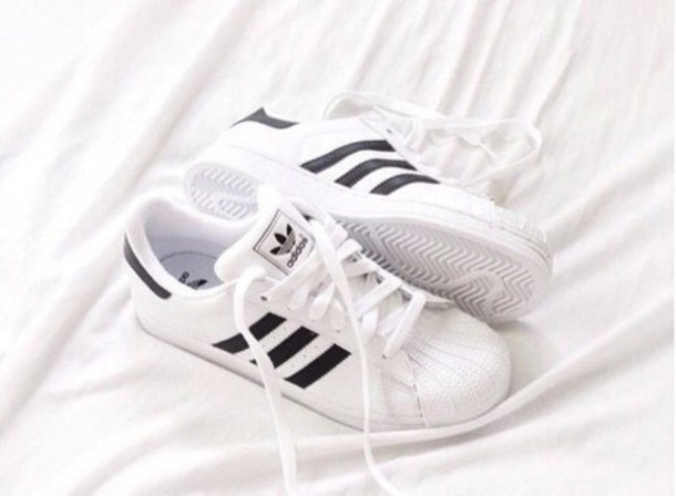 shoes adidas original adidas originals black and white