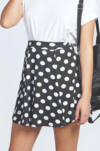 skirt pattern skater polkda dots polka polka dots spotty dotty skater skirt