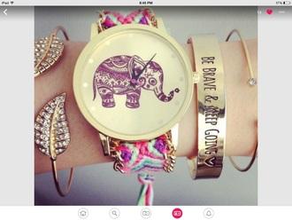 jewels watch elephant watch