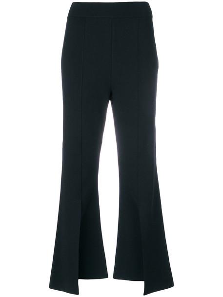 Stella McCartney cropped women blue pants
