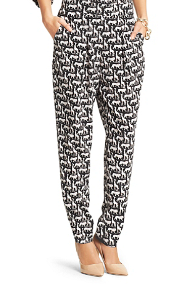 Atlas Printed Relaxed Trouser | Clothing by DVF