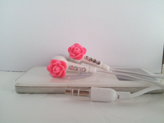 Ecouteur Iphone  Rose