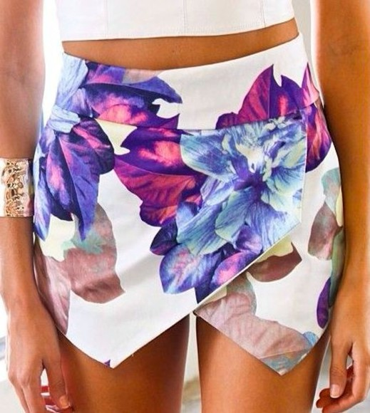skirt floral floral skirt envelope skirt