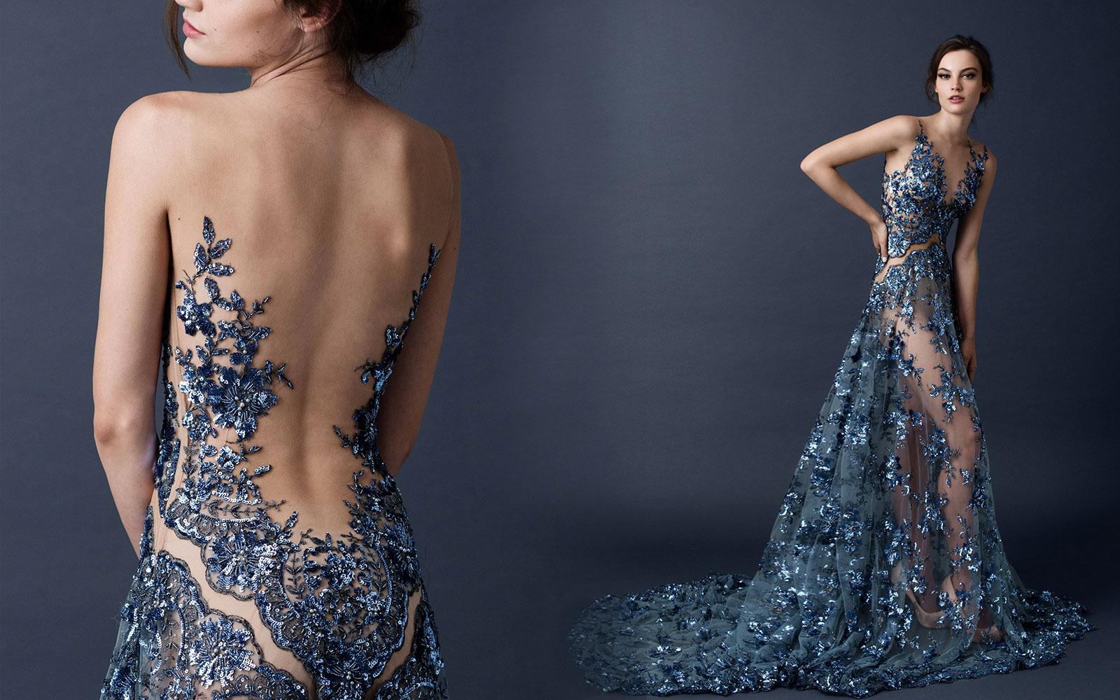 dress, prom dress, see through dress - Wheretoget