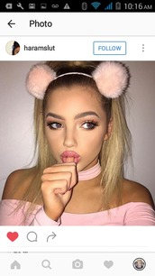 hair accessory,cute,fluffy,sexy,pink,hot,baddies,light pink,adorable af,princess,dd/lg,gorgeous,beautiful,beauty accessories