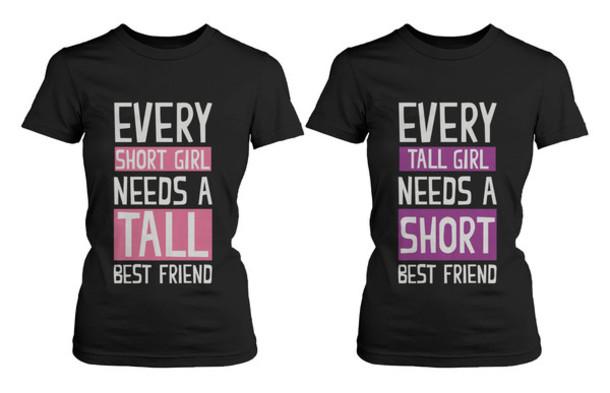 t shirt bff bff shirts bff matching shirts best friend. Black Bedroom Furniture Sets. Home Design Ideas