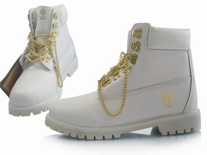 Buy white boots. Shoes