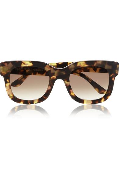 Thierry Lasry|Square-frame tortoiseshell acetate sunglasses|NET-A-PORTER.COM