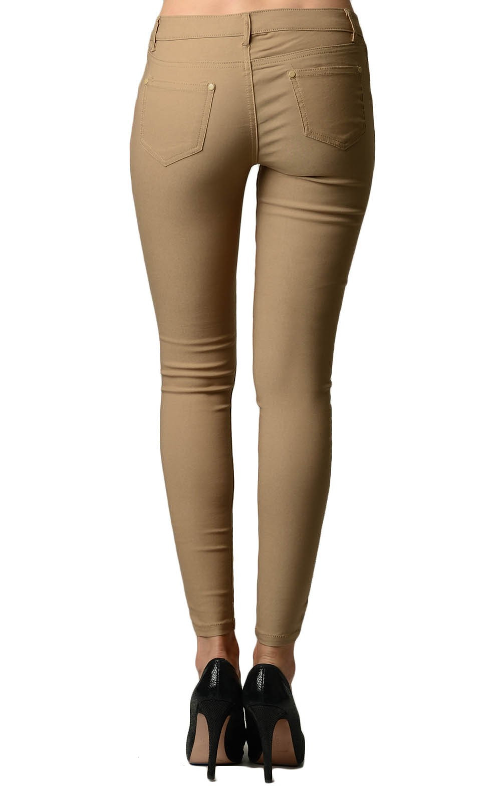 Color Jeggings Super Spandex Slim Skinny Long Pants. Material: 74% Rayon, 22% Nyron, 4% Spandex(Man Made). Actual Color might be Different due to Screen Brightness.