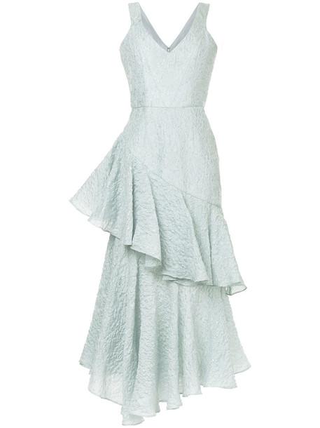 Bambah gown women black silk dress