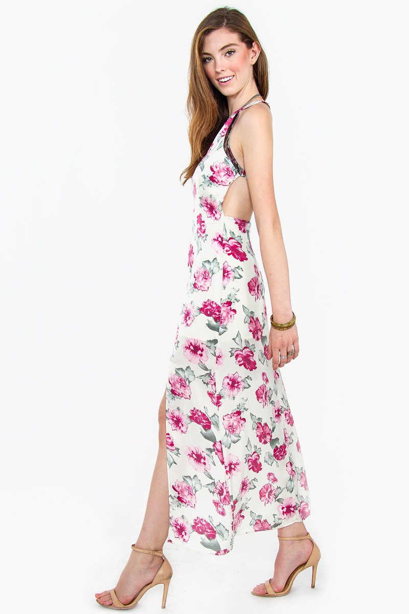 Roses of love maxi dress · trendyish · online store powered by storenvy