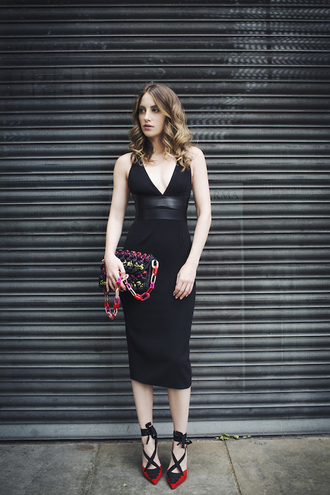 at fashion forte blogger dress bag shoes