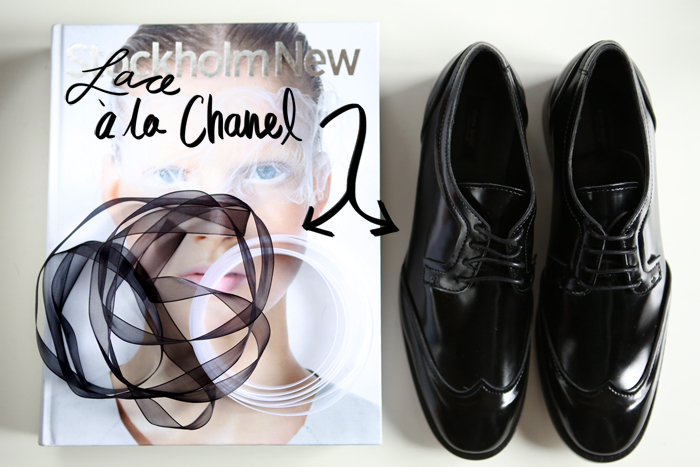 CHANEL INSPIRED LACES [ D.I.Y ] | StyleScrapbook