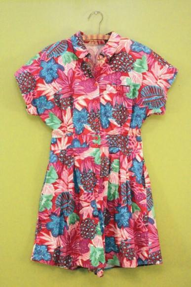 romper floral shorts jumpsuit
