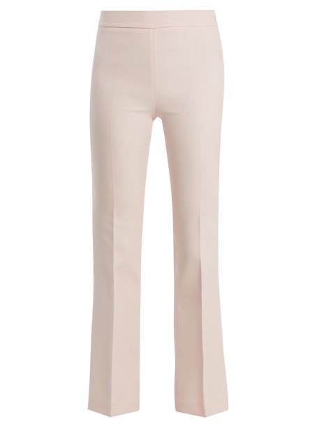 GIAMBATTISTA VALLI flare light pink light pink pants