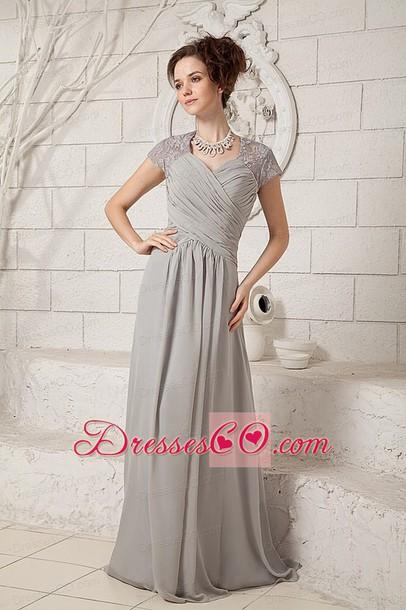 dress wedding dress mother of the bride dress grey dress grey grey dress elegant dress formal dress