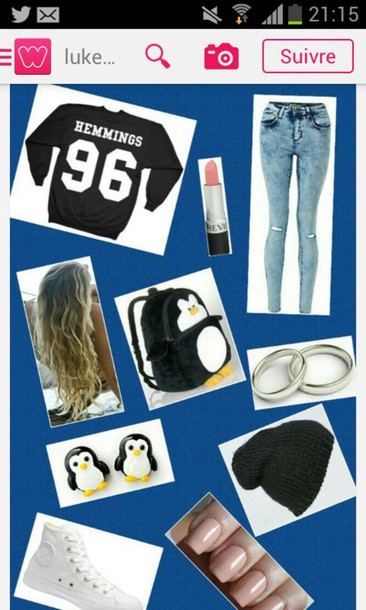 sweater 5 seconds of summer