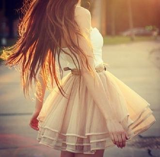 dress night dress night prom dress white short skirt pink skirt skater skirt tulle skirt