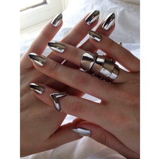 jewels nails nails diy nail polish nail accessories nails polish nail art nail stickers silver skinny stiletto nails fake nails cute nails nail accessories accessorize accessory gorgeous fashionista silver jewelry silver ring jewellery online jewellery rings jewelry jewelry ring jewelry rings jewelry store online jewelry set midi rings hand jewelry thick ring rings and tings rings cute summer rings silver rings & tings rings and jewelry ring hand jewelry nail accesories cute style stylish trendy tumblr tumblr girl cool girl edgy instagram pretty beautiful on point clothing armor ring